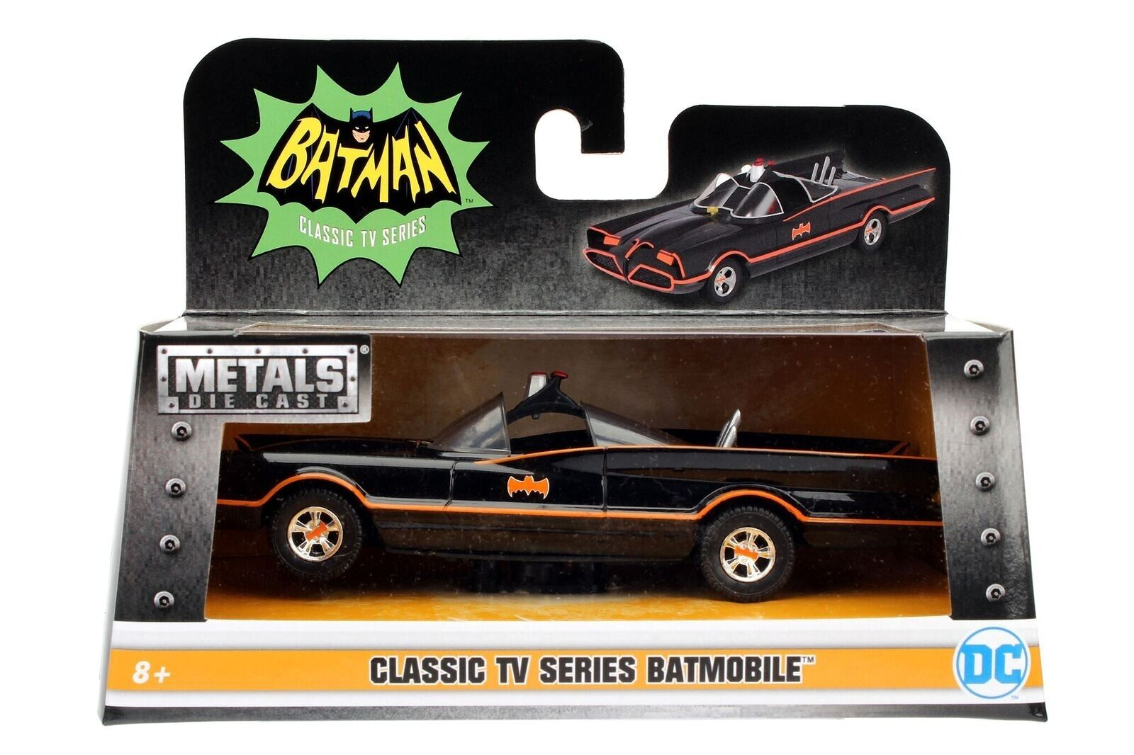 98225 Jada 1/32 1966 Batman Batmobile From The Classic TV Show NEW IN BOX!