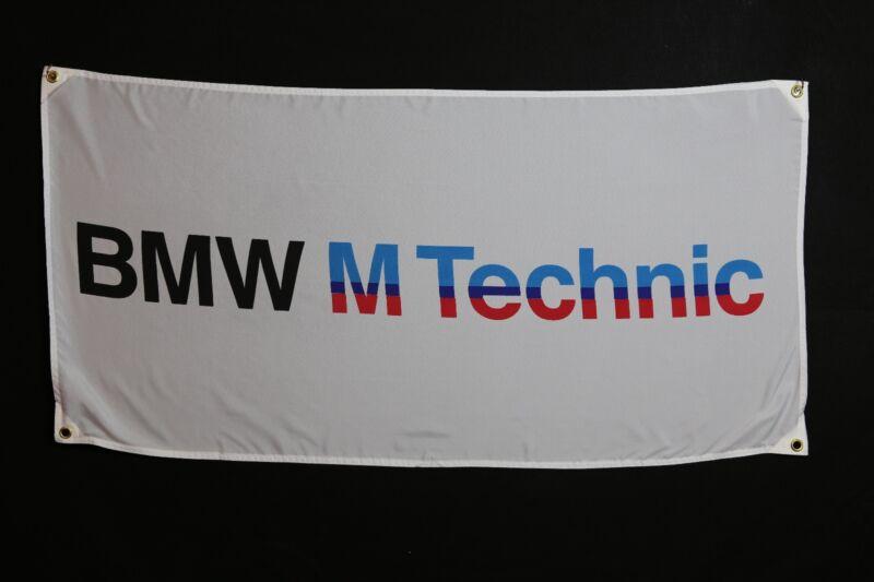 BMW Banner Flag - MotorSport Alpina Hartge M3 M5 M6 M1 M535i E36 Dtm E30 E24 E21