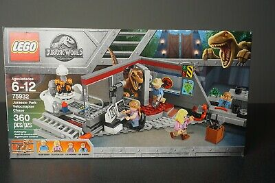 LEGO Jurassic Park Jurassic World - 75932 Velociraptor Chase - New & Sealed