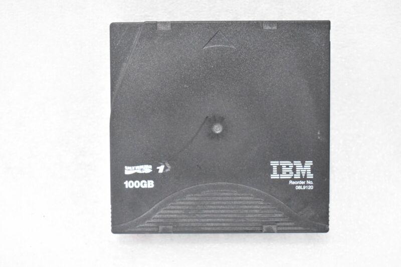 IBM 08L9120 ULTRIUM LTO 1 100GB DATA CARTRIDGE
