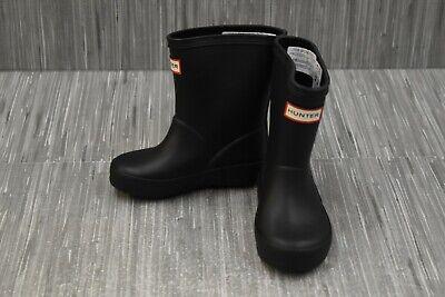Toddler Black Hunter Boots (**Hunter Kids First Classic Boots, Toddler Unisex Size (Boys 6) (Girls 7),)