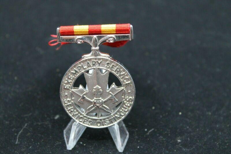 Canadian Fire Service Exemplary Service Medal SH Yarmine