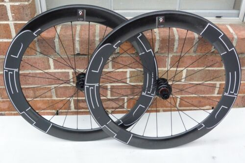 HED Vanquish 6 Pro Wheels Clincher/Tubeless 700c Center Lock Disc Brake 10/11s