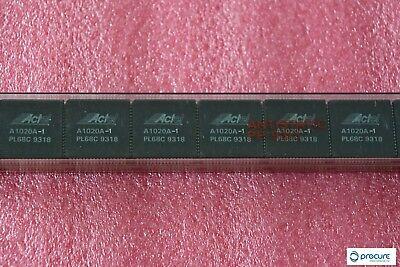 A1020a-1pl68c Act1 Series Fpga 2k Equivalent Gates 5v68-pin Plcc Actel New