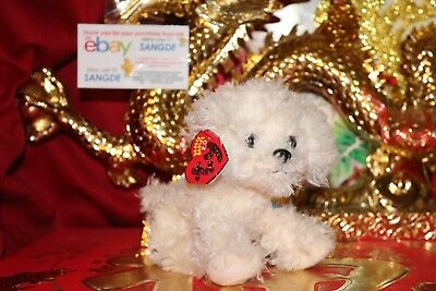 "TY 2.0 BEANIE BABY RASCAL THE DOG-6""-UNUSED CODE-2007-MWNMT-NICE GIFT"