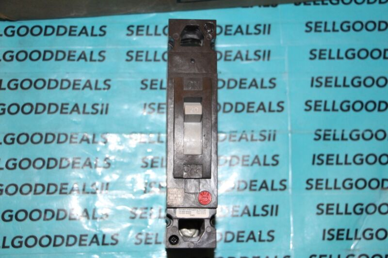 GE TED113020 1-Pole Circuit Breakers 20 AMP General Electric New