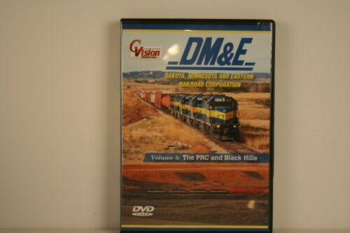 DVD DM&E Dakota Minnesota and Eastern Railroad Volume 3 - Cvision