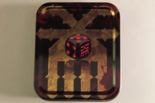 Limited Edition Warhammer End Times: Khorne Dice set x10 dice in tin Unreleased