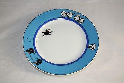 tz Porzellan Tiere Kuh + Rabe 19cm Frühstücksteller 1.Wahl (Kuh Teller)