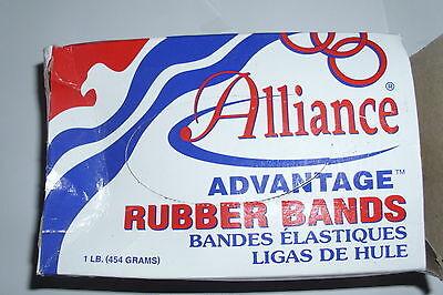 Alliance Advantage Rubber Band Size 16 2 12 X 116 Inches - 1 Pound Box 1800
