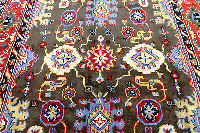 8X11 ELEGANT MINT NEW HAND KNOTTED MUTED COLORS WOOL OUSHAK TURKISH ORIENTAL RUG