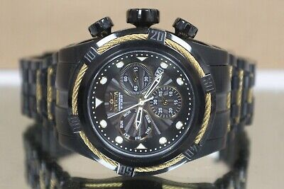 Invicta Bolt Zeus Swiss Quartz Chronograph Black Dial Mens Watch 23917