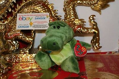 "TY 2.0 BEANIE BABY CHOMPY THE ALLIGATOR-5""-UNUSED CODE-2008-MWNMT-NICE GIFT"