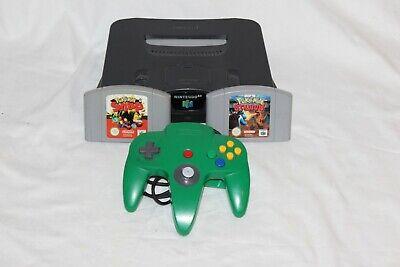 Nintendo N64 Consola + Mando Original Verde + Pokemon Snap Stadium