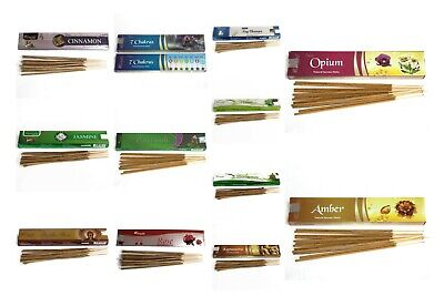 Aromatika Vedic  Genuine Nag Champa Incense Sticks Joss 15g Mix & Match various