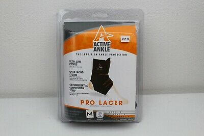 Active Ankle E3 Pro Lacer Size M Fits Left And Right Multi Sport Ankle Brace