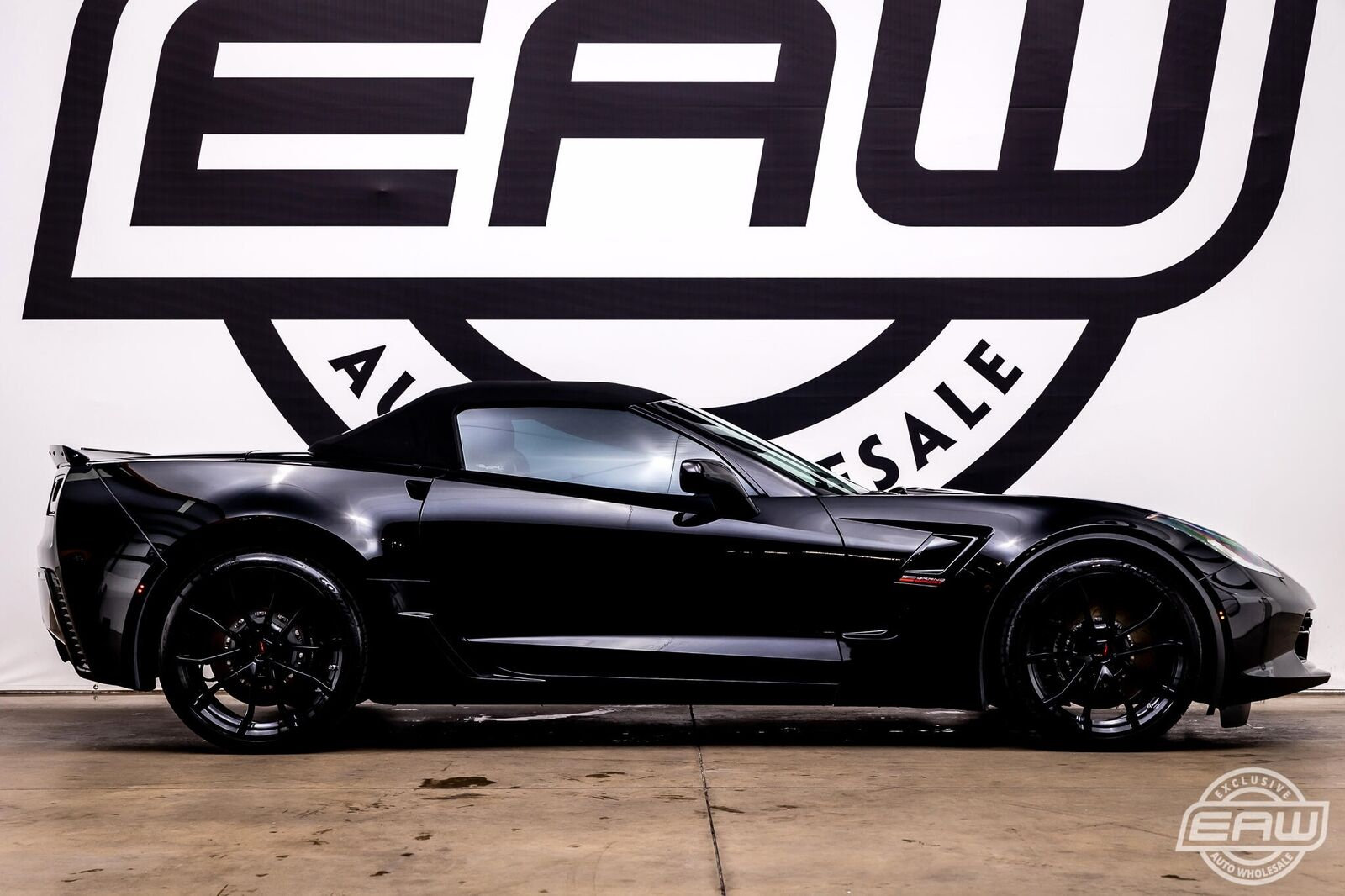 2019 Black Chevrolet Corvette Convertible 2LT | C7 Corvette Photo 9
