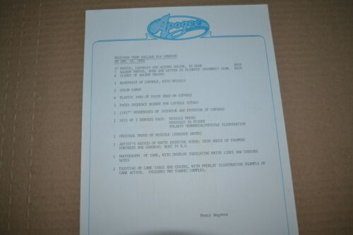 RARE JAMES BOND NSNA PRODUCTION USED DOCUMENTS - RARE