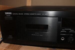 Yamaha cassette deck/ lecteur cassette