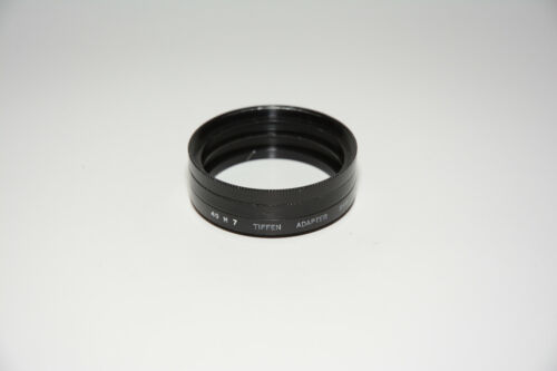 Tiffen 49mm to Series-7 Adapter and Retaining Rings - USED
