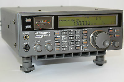 AOR AR5000A+3 Communications Receiver Scanner Radio 10Khz - 3Ghz HF VHF UHF