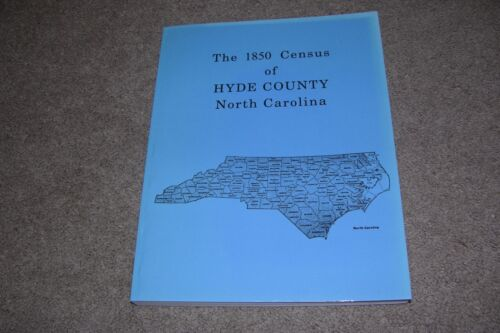 1850 Census Hyde County North Carolina, Genealogy Interest