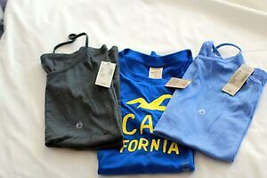 Lot of NWT 3 American Eagle Outfitters and Hollister tops, size L