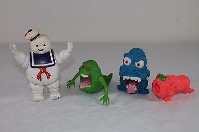 Geister Figuren Sammlung -1986- (Ghostbusters) Marshmallow Man und andere