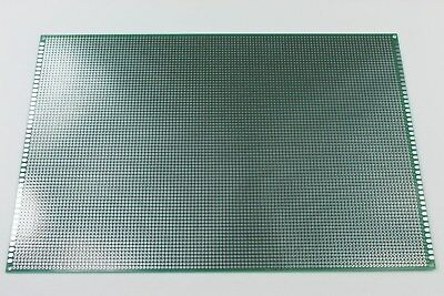 Double Sided Pcb Universal Proto Perf Board Through Plated 20 X 30 Cm Usa Ship