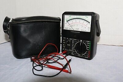 Micronta Analog Multimeter 22-207a With Pouch