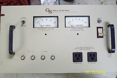 Sola General Signal Constant Voltage Transformer 93-13-220 Type Cvs