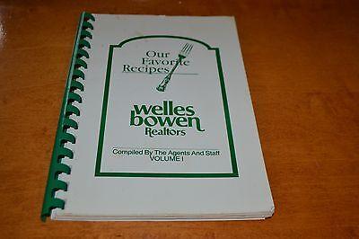 Welles Bowen Realtors Favorite Recipes Cookbook 1990 Toledo Oh Creole Pork Chops