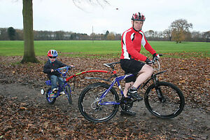 Brand New Genuine Trailgator Trail Gator Bike Bicycle Towbar Hitch Trailer Red