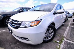 2014 Honda Odyssey EX-L, DVD, Leather, Rearview Camera, Push But