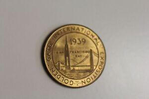 1939 Golden Gate International Exposition Token Treasure Island San Francisco CA