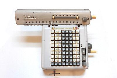 alte Rechenmaschine Nisa TYP K2 CSN 178102