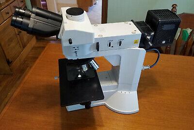 Nikon L150 Material Science Microscope 5x 10x 20x Luplan Polarizer Analyzer
