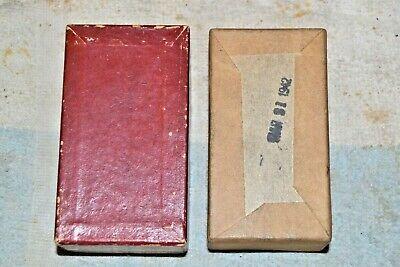 Starrett Empty Box From Last Word 711-f Dial Indicator Rm