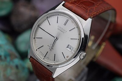 C. 1972 Vintage GRAND SEIKO GS Hi-Beat 5645-7010 Stainless Steel Men's Watch
