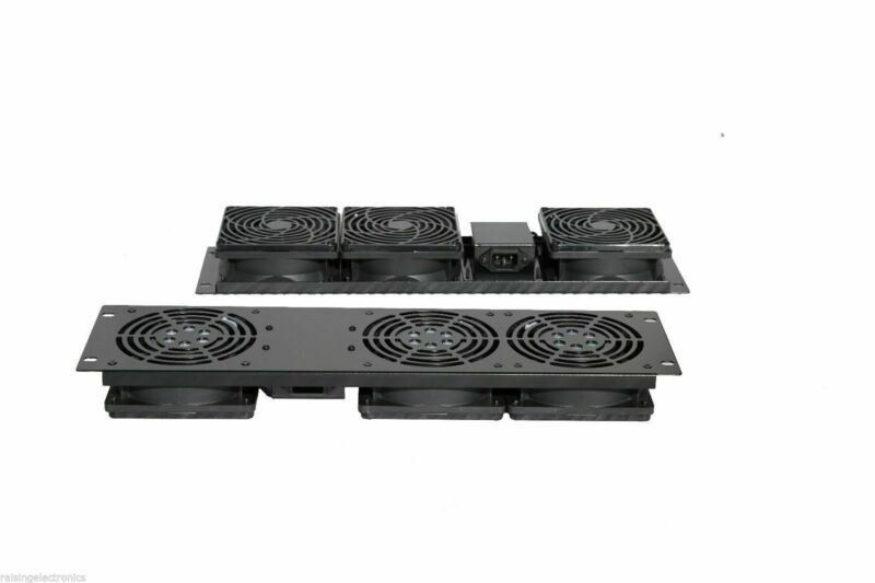 Server Fan Cooling System 3U Panel with 3 Fans
