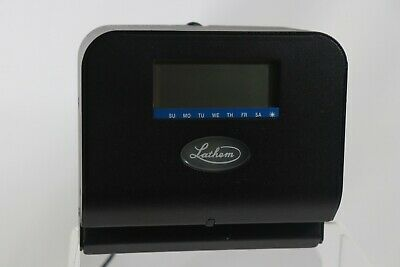 Lathem 800p Thermal Print Time Clock With Time Cards- Lth800p