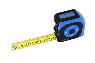 K Laser Tape Measure With Backlit Digital Screen 2 In 1 165 Ft Laser Measure