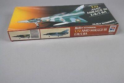 ZF573 Heller humbrol 1/72 maquette avion 80323 AMD MIRAGE III E/R/5 BA An 1986