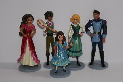 Disney Store Elena of Avalor Figure Play Set / Cake Topper Decorating