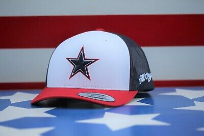 """Red White And Blue Cowboy Hat (Hooey """"DALLAS COWBOYS"""" RED/WHITE/BLUE)"""