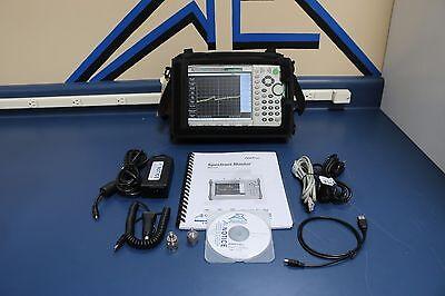 Anritsu Ms2721a 100khz-7.1ghz Handheld Spectrum Master Analyzer