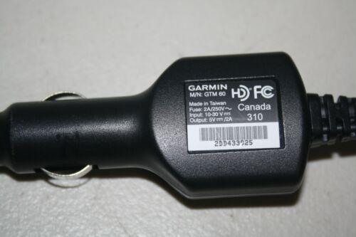 Genuine Garmin GTM 60 Lifetime Traffic Receiver Car Charger