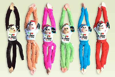 Plush Animals Wholesale (ST SIMONS ISLAND Plush wholesale animals Hanging Monkey 18