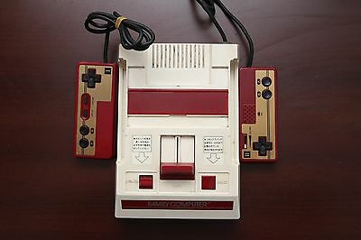 Famicom FC Console Japan Nintendo import system very good condition US seller