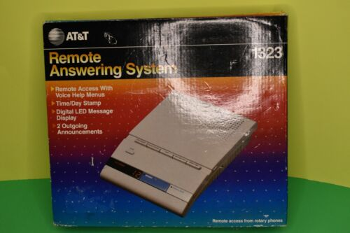Vintage AT&T 1323 Remote Answering System Machine New In Box